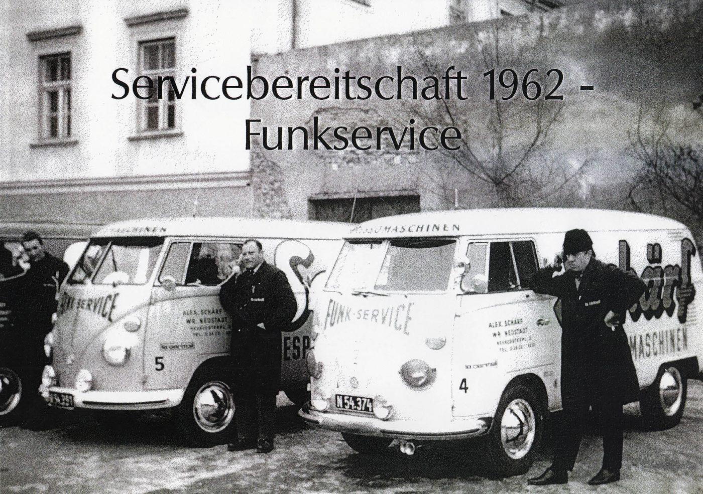 Familie Schärf Kaffee Geschichte