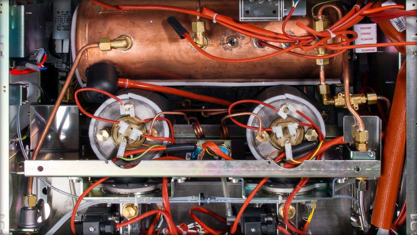 Familie Schärf Kaffeemaschine Multiboiler